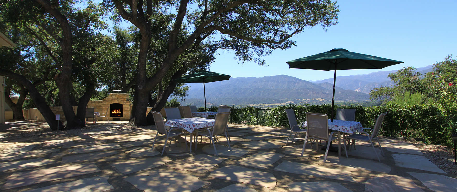 ojai valley lodging ojai retreat with panoramic views