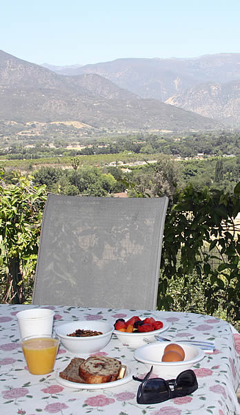 ojai valley bed and breakfast