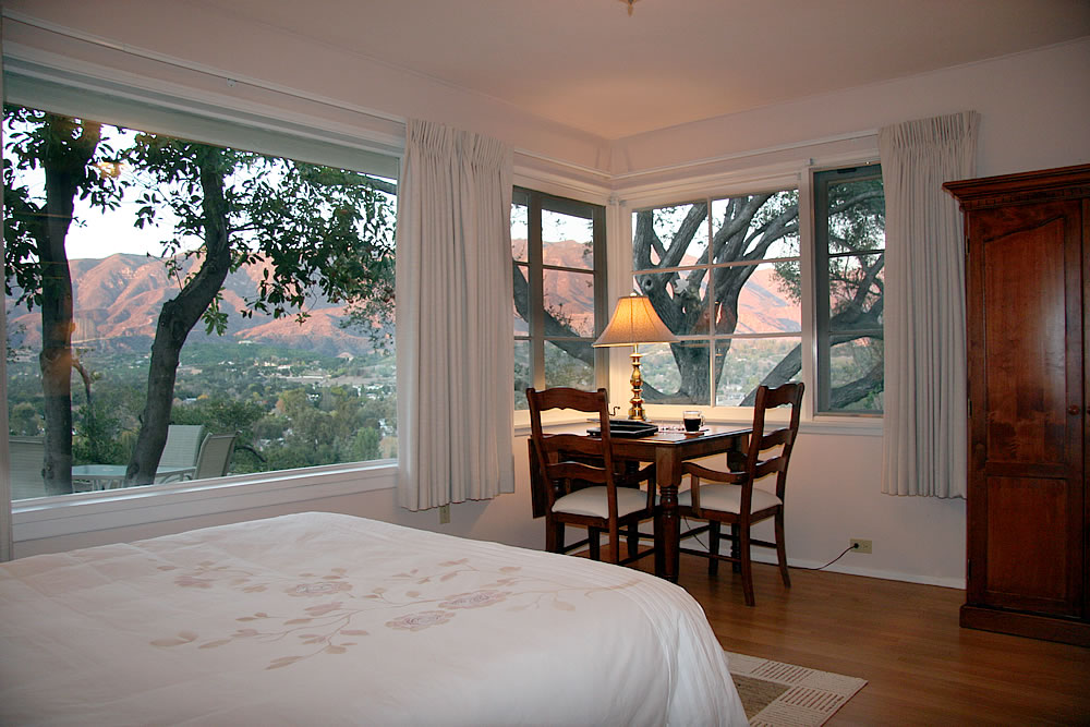 ojai valley b&b inn - garden room